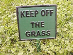 Keep Off The Grass poems